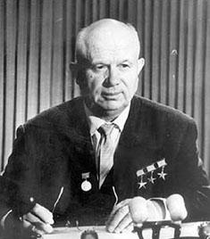 Nikita Khrushchev. bron: www.nndb.com