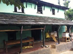 Huis waar ik verblijf in Adhikaridanda