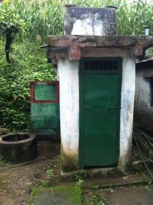 Toilet- en doucheblok