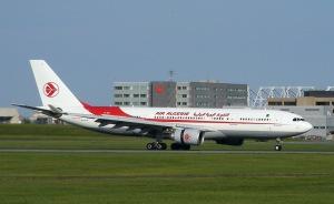 Een vliegtuig van Air Algérie